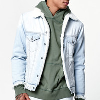 Civil Denim Thrash Sherpa Jacket at PacSun.com