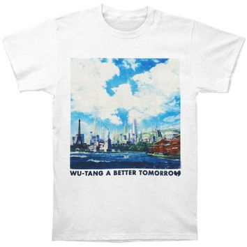 Wu Tang Clan Men's  A Better Tomorrow Regular Mens T T-shirt White