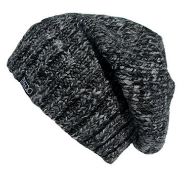 f8e9d2eed17 YUTRO Fashion Women s Slouchy Fleece Lined Wool Knitted Beanie Hat One Size  Charcoal