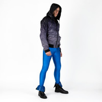 Royal Blue Meggings Men's Leggings