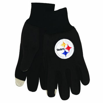 NFL Pittsburgh Steelers Technology Touch Gloves