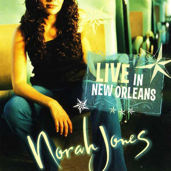 Norah Jones: Live in New Orleans 27x40 Movie Poster (2003)