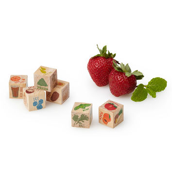 Smoothie Dice | Handmade kitchen decor, wooden smoothie dice, smoothie recipe