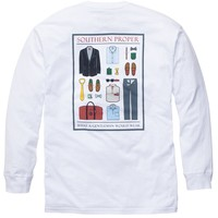What A Gentleman Would Wear - White Long Sleeve | Southern Proper
