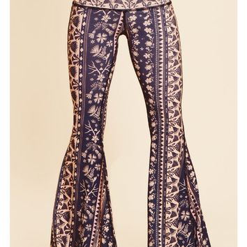 Teeki Moonflower Bell Bottom Pant