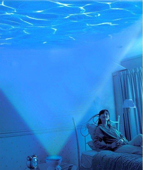 INFMETRY:: Mini Wave Projector - Bed&Bath - Home&Decor