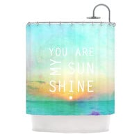 "Alison Coxon ""You Are My Sunshine"" Shower Curtain"