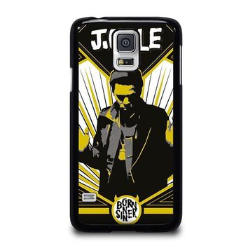 j cole born sinner samsung galaxy s5 case cover  number 2