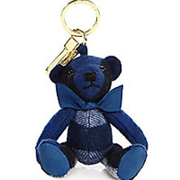 Burberry - Thomas Check Cashmere Bear Keychain - Saks Fifth Avenue Mobile