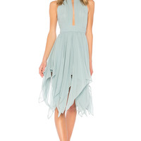 Michael Costello x REVOLVE Andrea Dress in Seafoam | REVOLVE