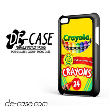 Crayola Crayons Colorful DEAL-2841 Apple Phonecase Cover For Ipod Touch 4