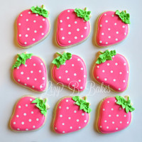 15 Strawberry Cookies