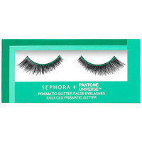 SEPHORA+PANTONE UNIVERSE Prismatic Glitter False Eyelashes (Emerald)