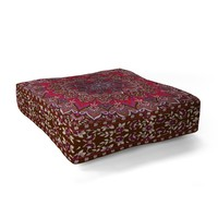 Aimee St Hill Farah Red Floor Pillow Square