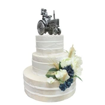 Montana Silversmith~ Just Hitched Cake Topper