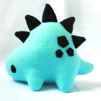 Blue and Black Stego Plush