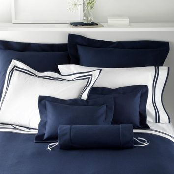 Elliot Pique Bedding by Matouk