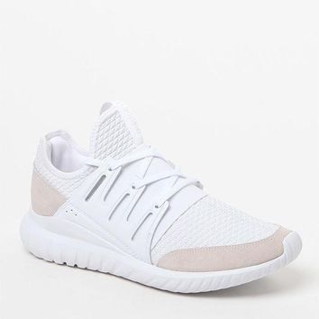 ONETOW adidas Tubular Radial White Shoes at PacSun.com