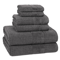 Hammam Towels S/6 | Charcoal