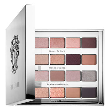 Sephora: Bobbi Brown : Bobbi's 25th Anniversary Nude Library Eyeshadow Palette : eyeshadow-palettes