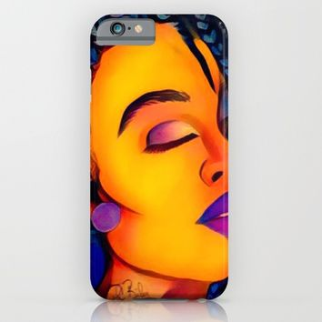 exhale artisto iPhone & iPod Case by violajohnsonriley