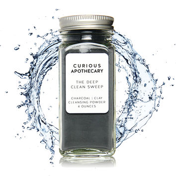 The Deep Clean Sweep Charcoal Face Cleansing Powder.
