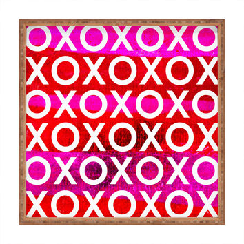 Sophia Buddenhagen Hugs And Kisses Square Tray