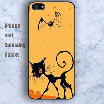 Cartoon bat cat iPhone 5/5S case Ipod Silicone plastic Phone cover Waterproof