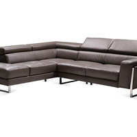 Ares Left Sectional, Espresso