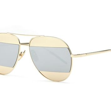 Perry Multi Coated Lense Aviator Sunglasses
