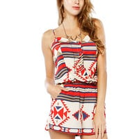 Papaya Clothing Online :: POCKET BOHEMIAN ROMPER