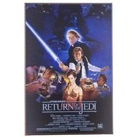 Return of the Jedi Star Wars MDF Movie Poster | Shop Hobby Lobby