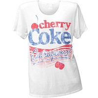 Cherry Coke - Outrageous Juniors Boyfriend T-Shirt