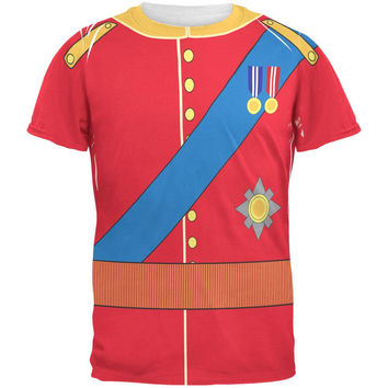 Halloween Prince Charming William Costume All Over Adult T-Shirt