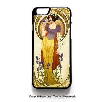 Disney Snow White Punk Gothic for iPhone 4 4S 5 5S 5C 6 6 Plus , iPod Touch 4 5  , Samsung Galaxy S3 S4 S5 Note 3 Note 4 , and HTC One X M7 M8 Case Cover