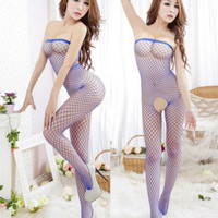 Sexy New Hot Fishnet Open Crotch Body Stocking Crotchless
