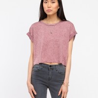 Need Supply Co. Crop Tee In Rust