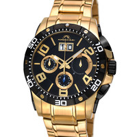 Men's Francoise Gold Tone Watch