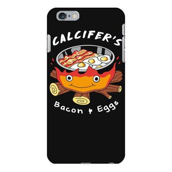 calcifer's bacon and eggs iPhone 6 Plus/6s Plus Case
