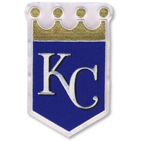 Kansas City Royals Crown MLB Baseball Team Logo Jersey Sleeve Patch