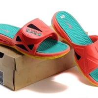 Air Lebron Slide Red/Green Size 40-46