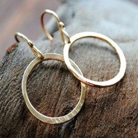 Artist Hoops - Small - Gold and Silver