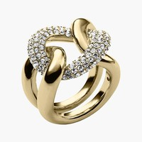 Michael Kors Curb Link Ring