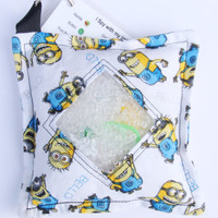 I Spy Bag Minions with detachable item list, Despicable Me Minions, White Minions, Bello Minions