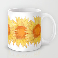 Sunflowers Mug by Sara Eshak