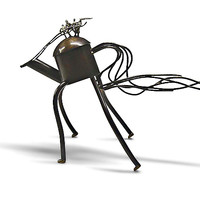 Riding the Wild Teapot by Malcolm Owen Mary Ann Owen: Metal Teapot | Artful Home