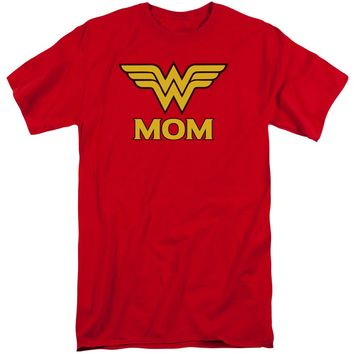Dco - Wonder Mom Short Sleeve Adult Tall Shirt Officially Licensed T-Shirt