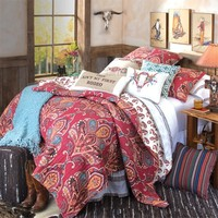 Ain't My First Rodeo Quilted Bedding