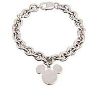 Sterling Silver Mickey Mouse Charm Bracelet | Disney Store
