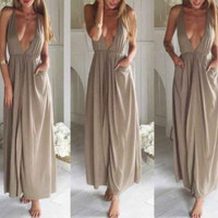 Green-Grey Barbie Maxi